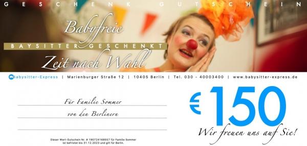 150 EUR Wert-Gutschein